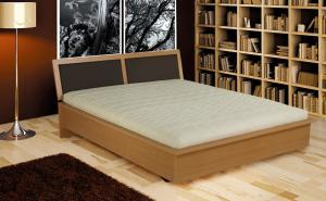 PRODUS - łóżko z ramą drewnianą